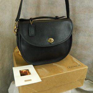 COACH Vintage Plaza Bag #9865 Black Never Used!